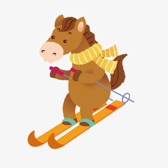 poney-au-ski
