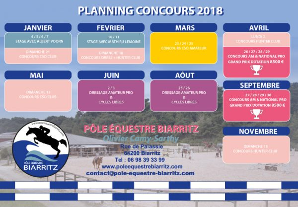 planning-concours-peb-2018
